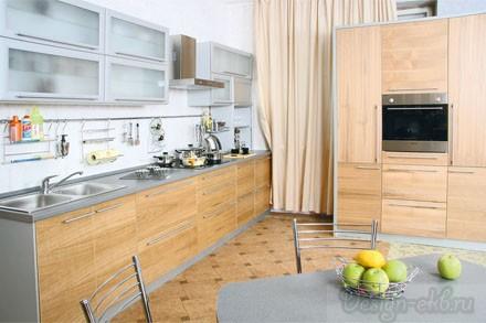 Кухня «Леонардо шпон»