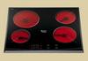 Электрическая варочная панель стеклокерамика «KBT 6004» (BI)/HA