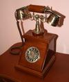 Телефонный аппарат деревянный, арт. Т238А