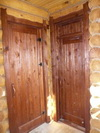 Двери из массива 8 (баня)