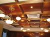 Потолок кессонный