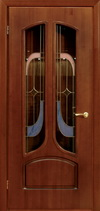 Двери межкомнатные «Ампир Витраж» ПО